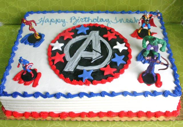 Cake Decorating Ideas Avengers : Cake Show & Tell afrugalspinster