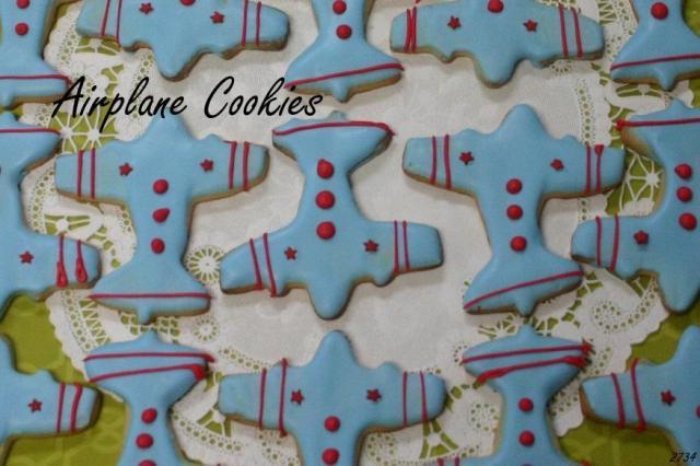 airplane cookies_2734