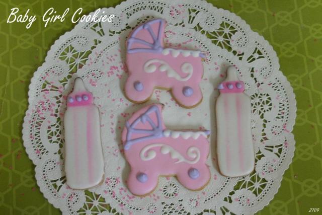 Baby girl cookies2709