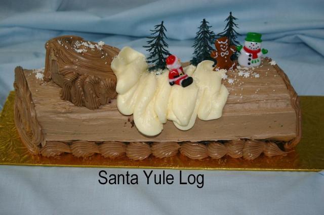 Santa Yule Log