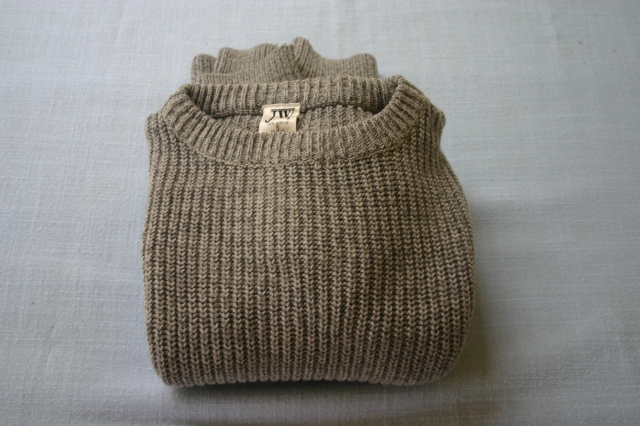 Shaker knit sweater