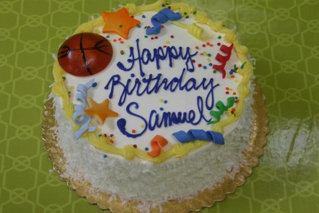 basket ball theme cake 3318
