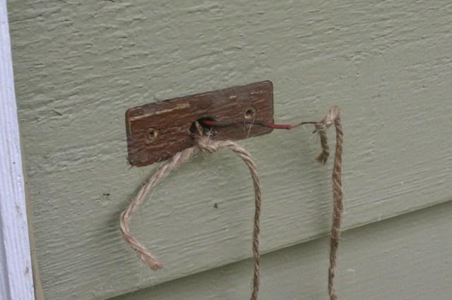 wires seccured