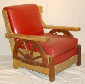 internet $100 wagon wheel chair