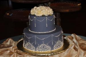blue wedding cake2649
