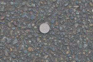 dime in parkinglot