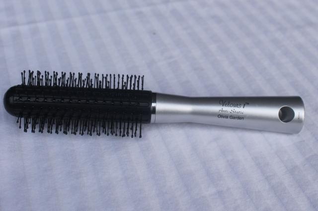 cleaned  brush