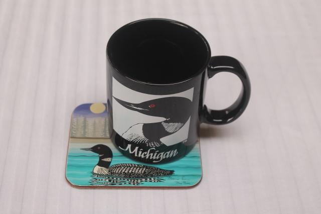 LOON coaster & mug