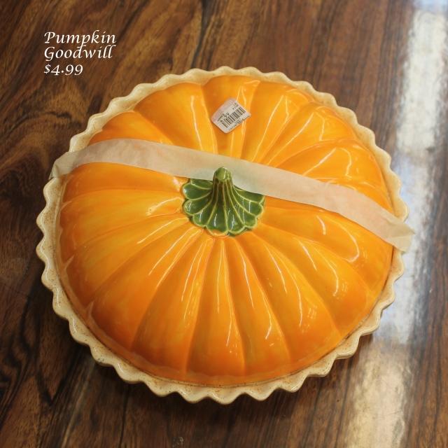 $4.99 GW Pumpkin pie