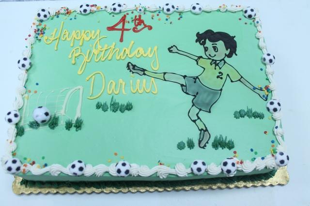 7919boy kickng soccer goal