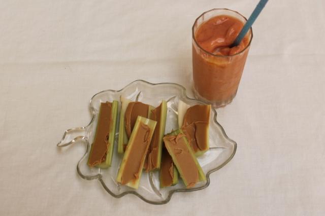 celery & smootie