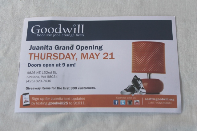 goodwill post card