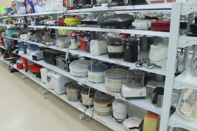 Appliance Aisle at Value Village