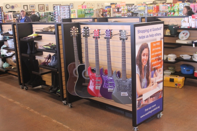 Guitars Display