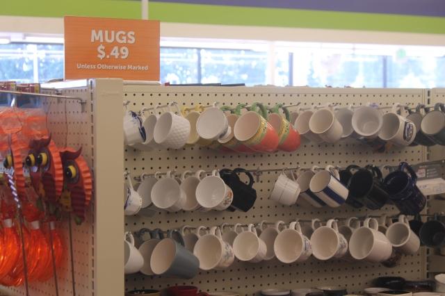 mugs 49 cents