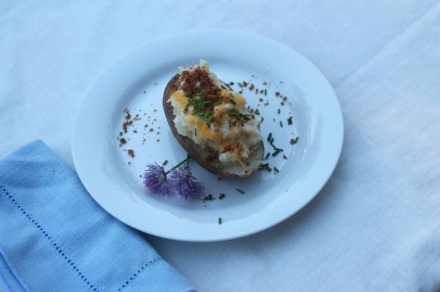 twice baked potatoe
