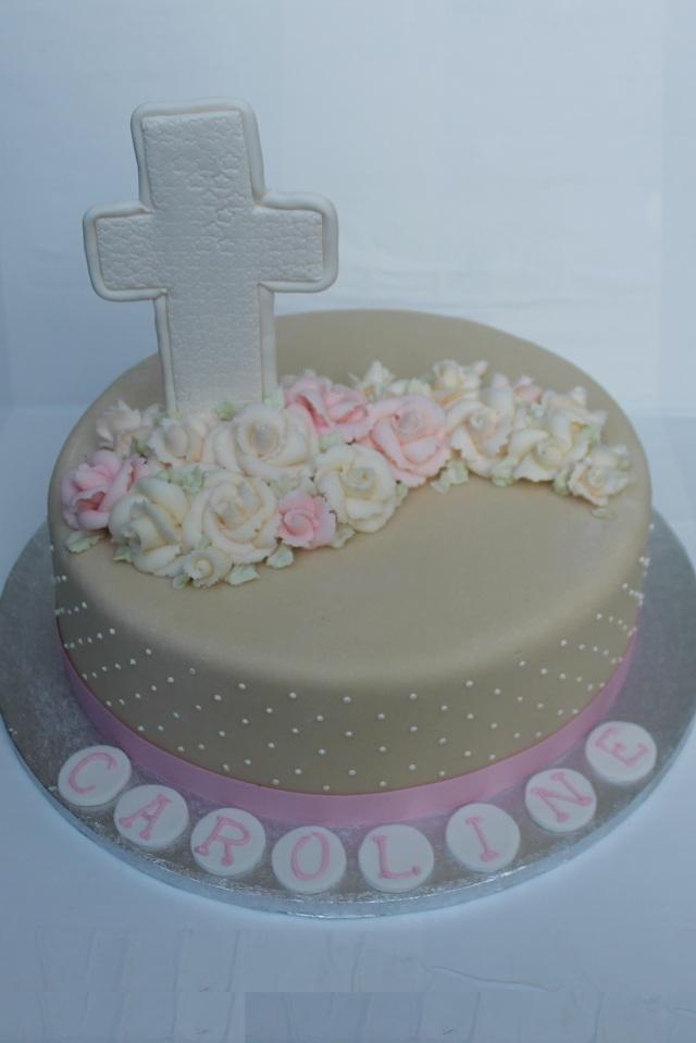 9365 Laurdis' Baptism cake