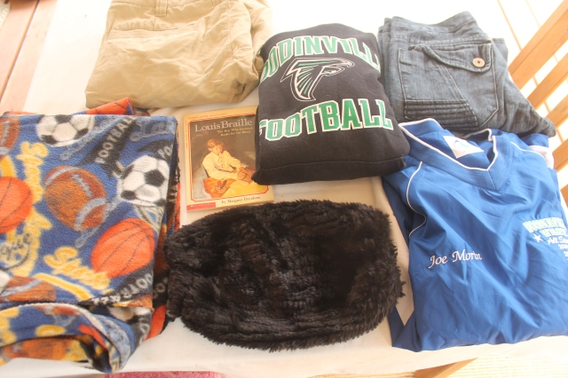 Clothing will be donated to Union Gospel Mission.