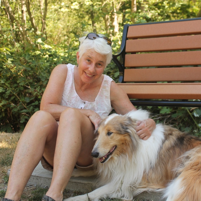 Jill (Her dog Tour will soon be in Doggy Heaven too)