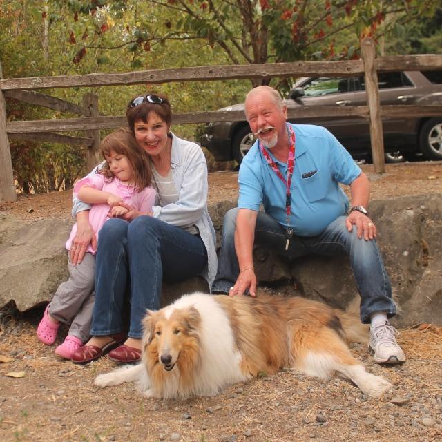 Ellie, Nancy and Keith
