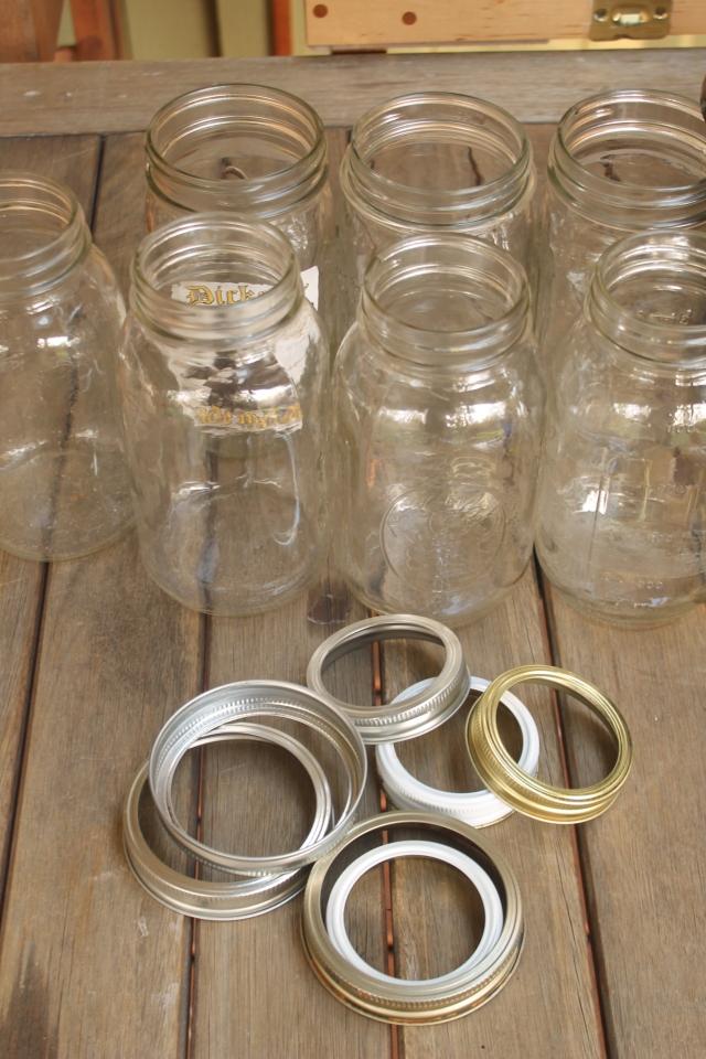 6 Jars & Lids