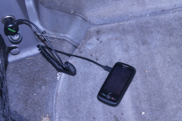 chargeing phone