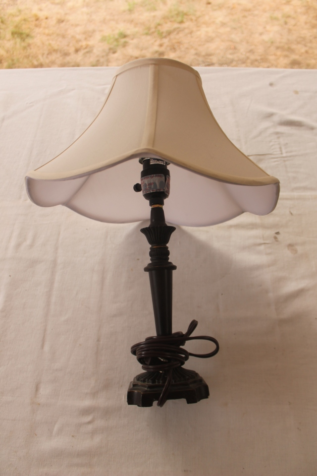 $3.00 table lamp
