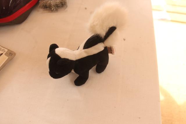 Skunk Toy $1.00