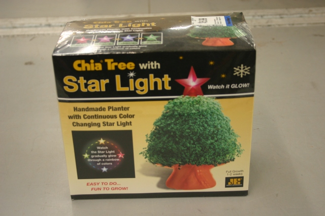 Chia Tree with Star Light $5.99