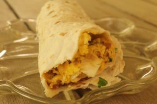 1.spin bfast burrito