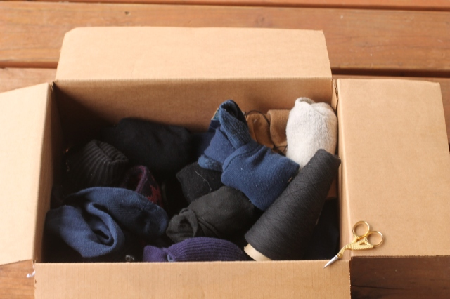 box of socks